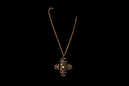 necklace with cross 14