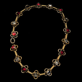 Big Necklace Gold/Ruby 10