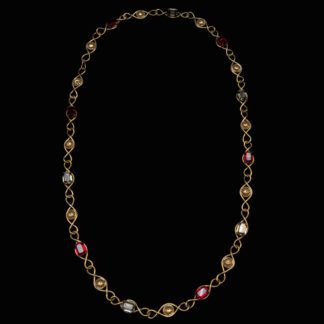 Big Necklace Gold/Ruby 13
