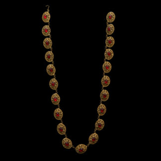Big Necklace Gold/Ruby 2