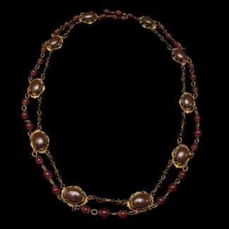 Big Necklace Gold/Ruby 3