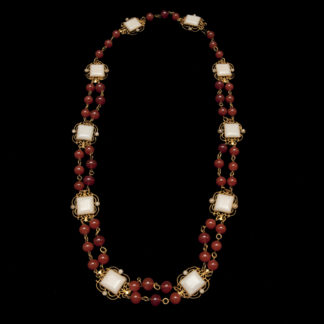 Big Necklace Gold/Ruby 5