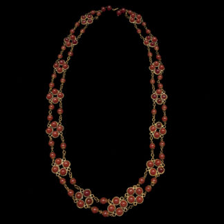 Big Necklace Gold/Ruby 6