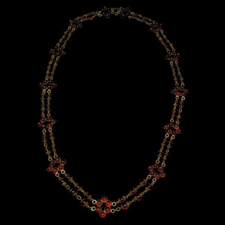 Big Necklace Gold/Ruby 7