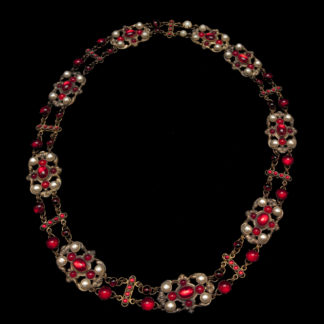 Big Necklace Gold/Ruby 8