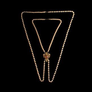 big necklace with pearls 11