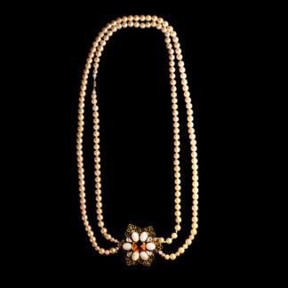 big necklace with pearls 14