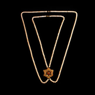 big necklace with pearls 15