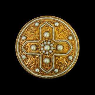 Religious Ecclesiastic Brooch 101