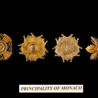 Monaco Principality 1-2-3-4