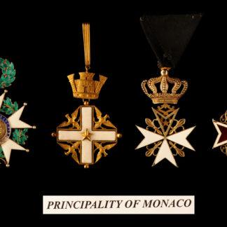 Monaco Principality 5-6-7-8