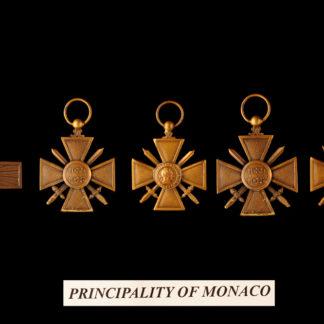 Monaco Principality 9-10-11-12-13